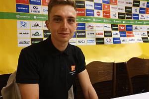 Závodník ČEZ CT Tábor Michael Boroš.
