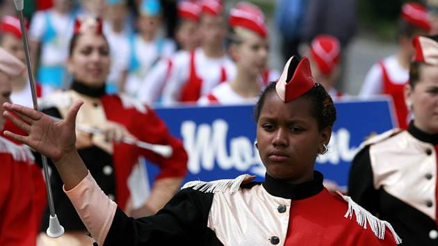 Ve Strakonicích se o víkendu sjely nejúspěšnější mažoretky z Čech, aby předvedly své umění na zemském finále Národního šampionátu.