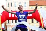 To vítězná žena Lucie Sekanová byla se svým časem naprosto spokojená.