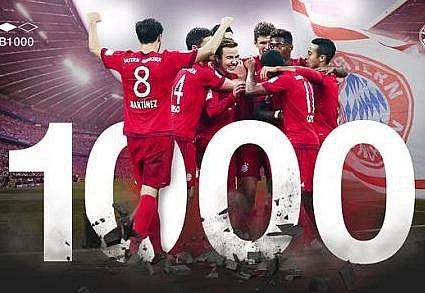 Bayern vyhrál potisící vlize.
