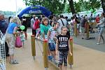 V parku BosoNoha pokračoval program i odpoledne.