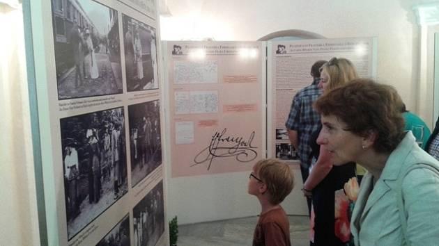 Zahájení výstavy Po stopách Františka Ferdinanda d´Este v Chlumu u Třeboně.