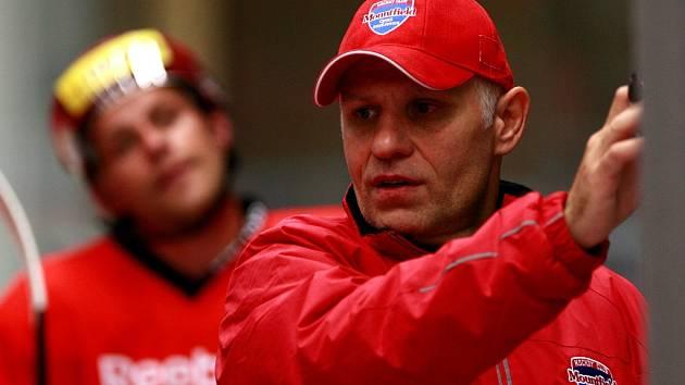 Trenér Peter Draisaitl má důvěru vedení klubu.