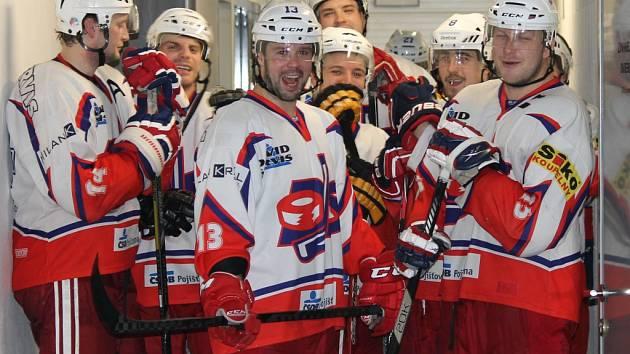 Hokejisté David servisu porazili v krajské lize doma Vimperk 5:2.