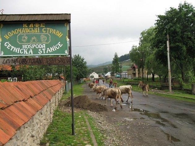 Četnická stanice v Koločavě, poskytuje ubytování turistům nejen z České Republiky.
