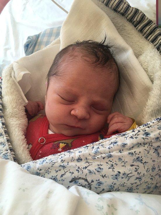 Amálie Krejčová, Chotěmice.Narodila se 8. dubna mamince Dominice Fenclovéa tatínkovi Lukáši Krejčovi. Vážila 3330 gramů.