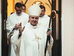 Českobudějovický biskup Mons. Vlastimil Kročil.