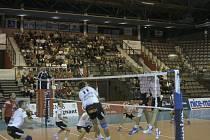 Volejbalisté Jihostroje České Budějovice sehráli v Lize mistrů další vyrovnané utkání. V Cannes prohráli 1:3.