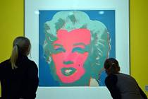 Výstava Andyho Warhola.