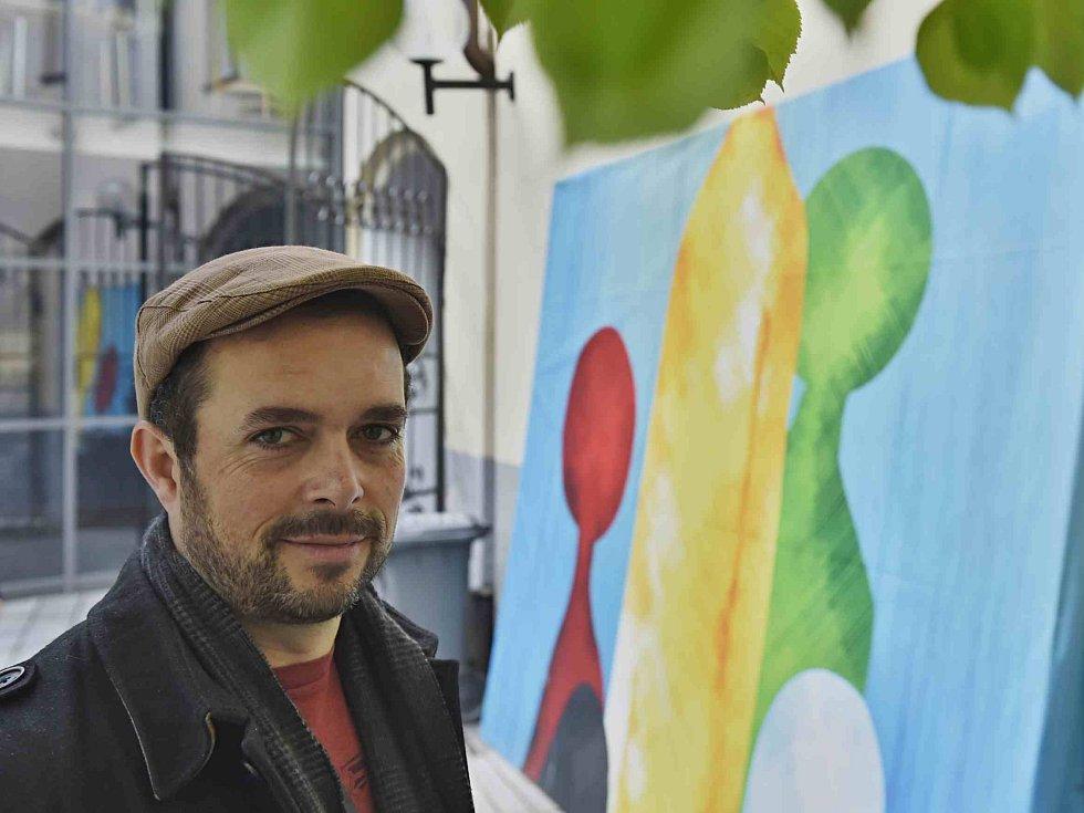 Festival Anifilm v Třeboni promítl 405 animovaných snímků. Na snímku animátor Jakub Pistecký, který pracoval mj. na filmech Rango, Piráti z Karibiku, Avengers či Kapitán Amerika: Občanská válka.
