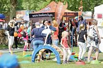 Děti i dospělí ochutnávali na Výstavišti rozličné aktivity, které čekají děti v dětských spolcích a organizacích.