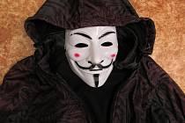 Přepadení v maskách, ilustrační foto.