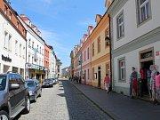 Kanovnická ulice v Českých Budějovicích