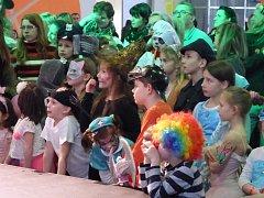 V sobotu se na českobudějovickém výstavišti uskutečnil první ročník Maškarního bálu pro děti.