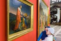 Přes stovku olejomaleb vysoké estetické i finanční hodnoty uvidí návštěvníci jízdárny zámku Hluboká na výstavě Podoby středoevropského romantismu a biedermeieru.