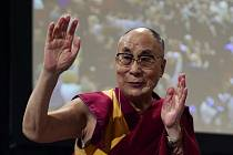 Dalajláma na archivním snímku.