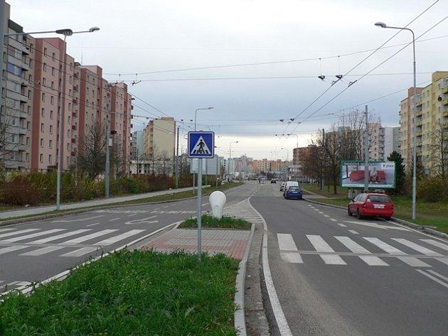 Ulice M. Horákové.