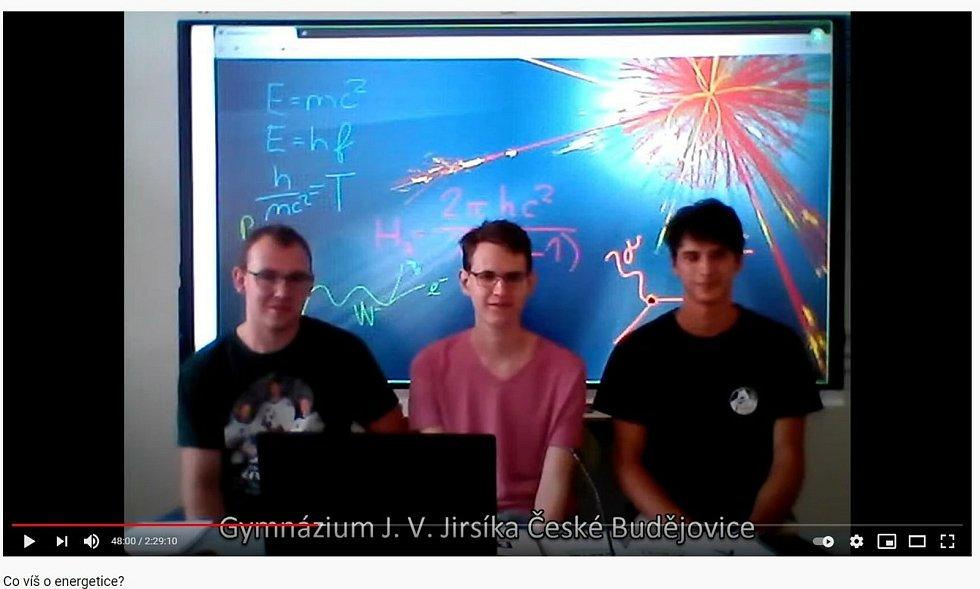 Studenti z GJVJ vyhráli soutěž Co víš o energetice