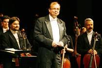 Filharmonie Brno zahrálana Tříkrálovém koncertě v českobudějovickém Domě kultury Metropol.