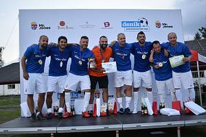 Vítězem středečního turnaje Zaměstnanecké ligy Deníku se stala firma Viscofan.