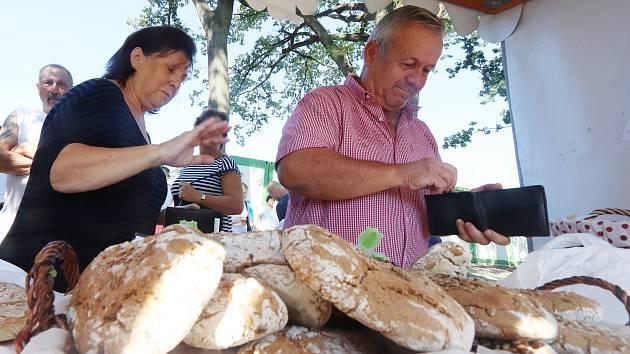 Boršov nad Vltavou tradiční trh
