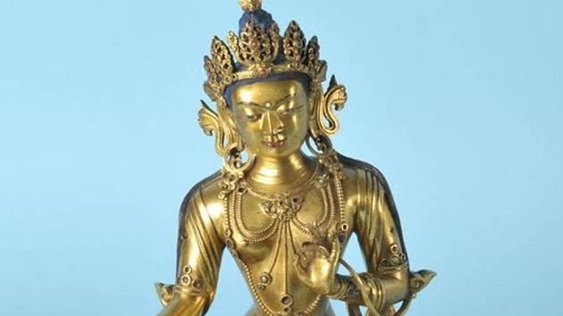 Cena Buddhy v aukci závratně stoupala.