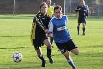 Dolní Bukovsko doma v I.A třídě podlehlo Bernarticím 0:1 gólem z 90. minuty.