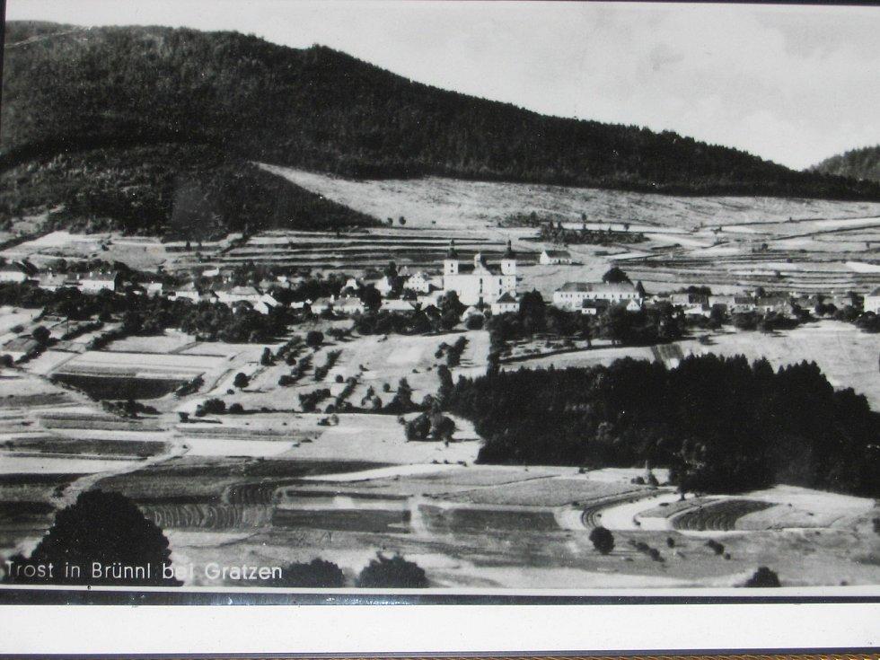 Dobrá Voda kolem roku 1930.