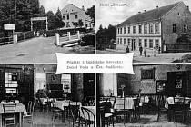 Hotel Emaus na Dobré Vodě v roce 1930.