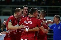 Volejbalisté Jihostroje Č. Budějovice podali v Lize mistrů v Turecku parádní výkon. vyhráli 3:2.