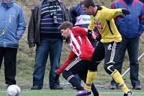 Jan Riegel se v zápase se Žižkovem v Satalicích vrátil po vleklém zranění opět na hřiště.