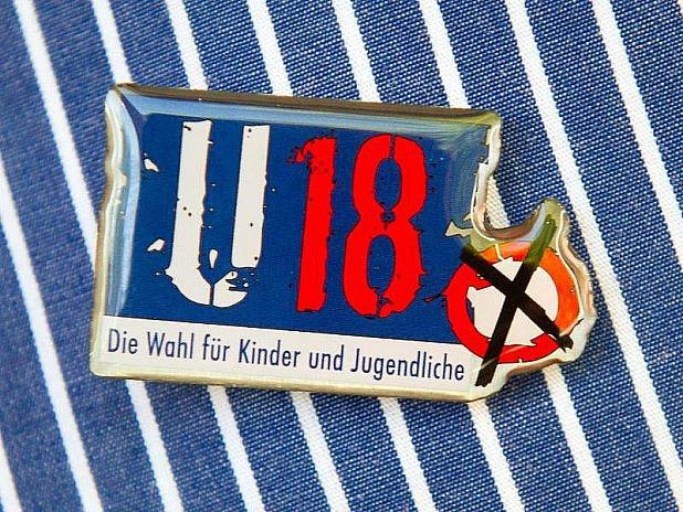 Logo voleb mládeže vNěmecku.