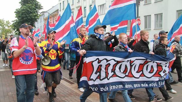 POCHOD NA HOKEJ. Fanoušci na premiérové utkání nového klubu vyrazí společným pochodem.