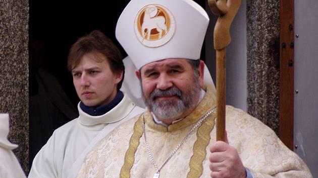 Budějovický biskup Jiří Paďour.
