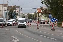 Senovážné náměstí prochází stavebními úpravami. Ilustrační foto.