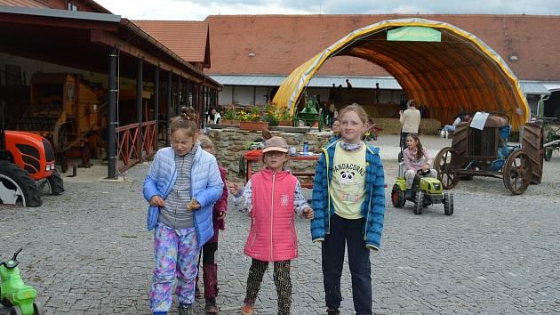 Dětský den v muzeu v Netěchovicích. Foto: Radka Velková