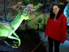 Na Výstavišti řvou dinosauři