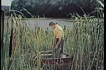 U Žíteče vznikla velká část exteriérových záběrů. Rybář vytahuje ryby v čeřenu. Je to rybník Blato? Velká černá?