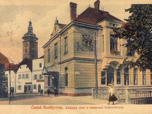 KDYSI: Volbrechtova restaurace v Kněžské ulici.