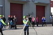 Dobrovolní hasiči  závodili v požárním útoku.