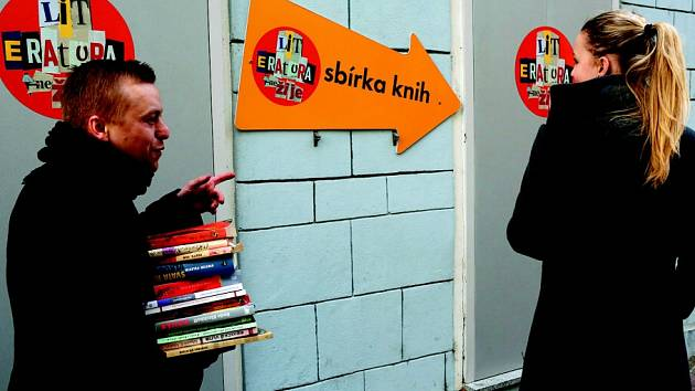 Sbírku knih vyhlásili pořadatelé nového českobudějovického festivalu Literatura (ne)žije!