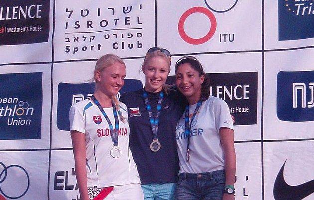Aneta Grabmüllerová vyhrála závod v izraelském Eliatu