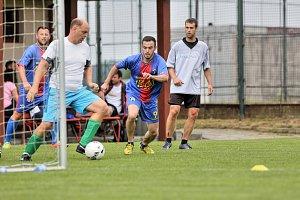 V Borovanech se utkaly okresní nemocnice ve fotbale.