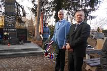 V Rudolfově v sobotu uctili památku legionáře Leopolda Matouše.