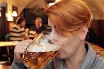 Ochutnat pivo Beeranek můžete v podniku Singer pub.Foto: Deník/Vladimír Štastný