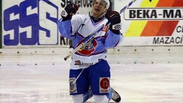 Milan Kostourek ještě v chomutovském dresu.