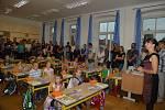 První školní den v ZŠ a MŠ Nové Hrady.