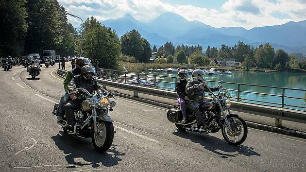 European Bike Week přilákal asi 30 000 harleyářů k Faaker See. Ilustrační foto.