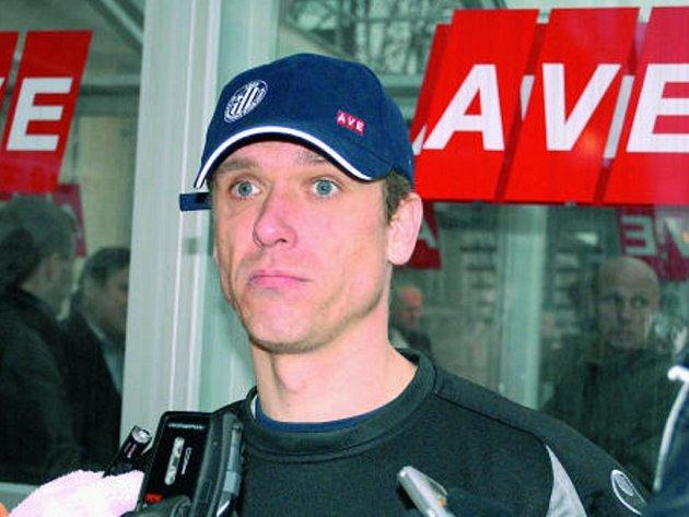 Zkušený David Homoláč si v letošním ročníku I. fotbalové ligy udržuje v týmu Dynama stálou formu.