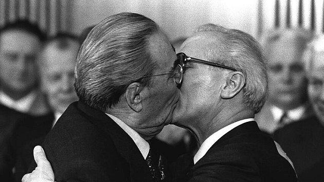 Historický polibek…